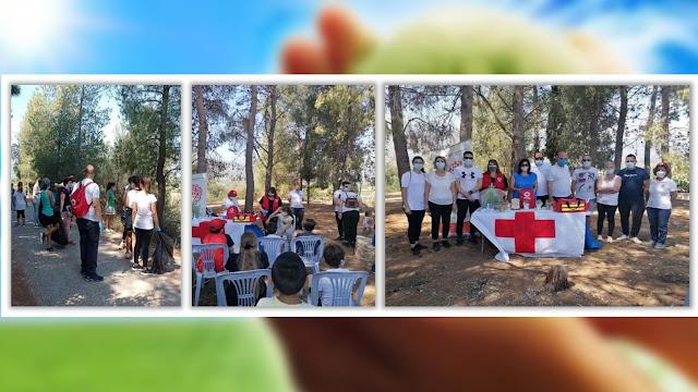 Υγειονομική κάλυψη από τον Ερυθρό Σταυρό Άργους του εθελοντικού καθαρισμού του Προφ. Ηλία Κουτσοποδίου