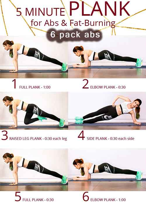 6 Pack Abdominals - Get Hot Looking Abs