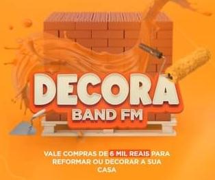 Cadastrar Promoção Decora Minha Casa Band