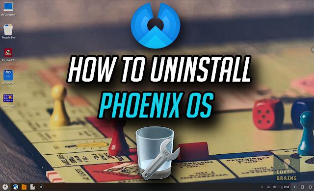 Uninstall Phoenix OS