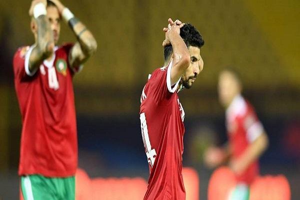 ودع منتخب المغرب بطولة الكان