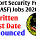Airport Security Forces (ASF) Written test date Announced