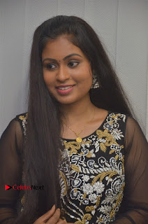 Tamil Actress Shreya Sri Stills in Black Akarkali Dress at Vanga Vanga Team Interview  0002.jpg