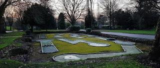Crazy Golf at Hexthorpe Flatts Park in Hexthorpe, Doncaster