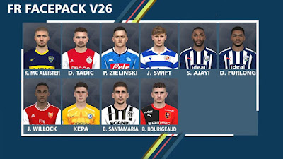 PES 2017 Facepack V26 by FR Facemaker
