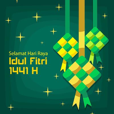 Kumpulan Gambar & Ucapan Selamat Hari Raya Idul Fitri 1441 Hntuk Medsos
