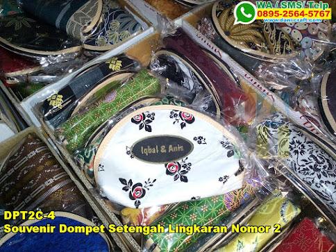Jual Souvenir Dompet Setengah Lingkaran Nomor 2