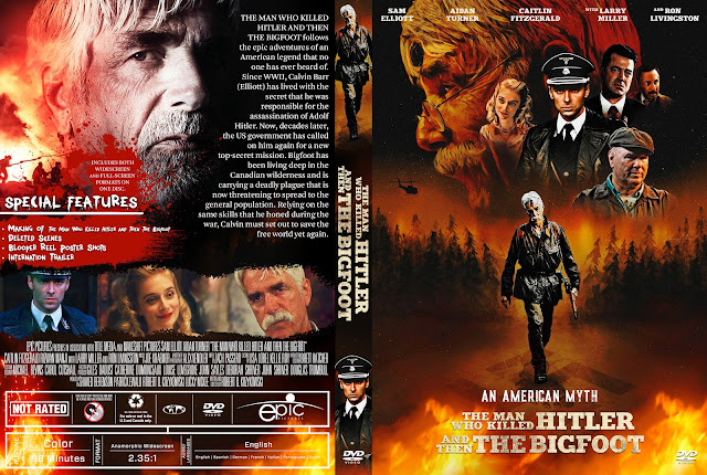 The Man Who Killed Hitler and Then The Bigfoot DVD Cover
