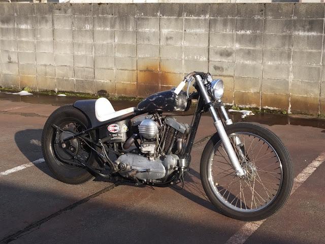 Harley Davidson Sportster 1966 By Overload Machinery Hell Kustom
