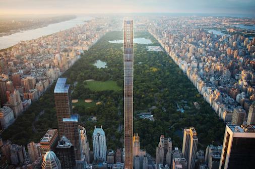 Phối cảnh thiết kế của tòa tháp chọc trời siêu nhỏ ở New York