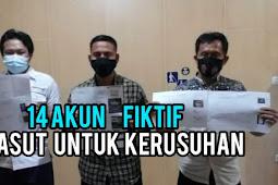 Polisi Usut 14 Akun Fiktif Penghasut Rusuh Demo UU Cipta Kerja