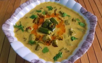 Bhindi Curry, Okra Recipe