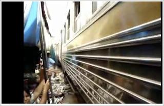 photo freeze from Maeklong market video