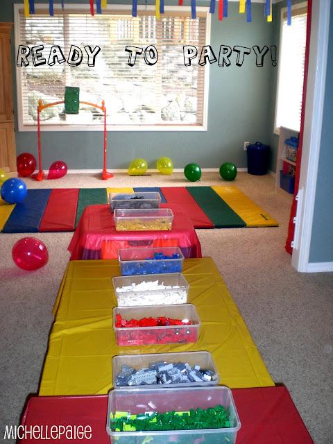 Lego Bedroom Decorating Ideas: Michelle Paige Blogs: LEGO Party