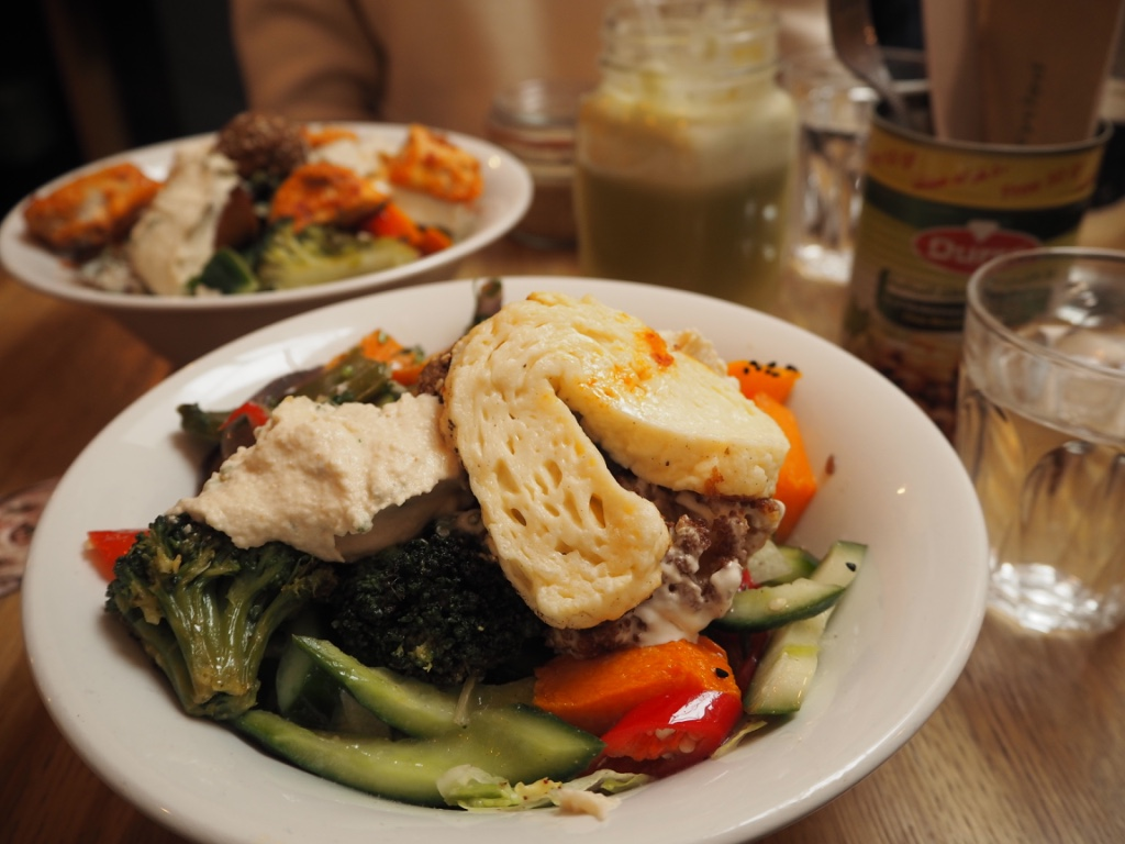 lebanese mediterranean salad plenty london review