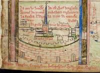 Manuscrito Historia Regum Anglorum