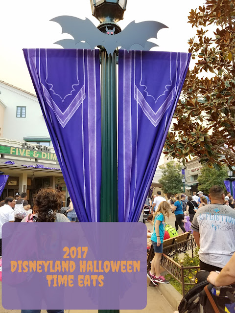 Disneyland California Adventure Halloween eats and treats