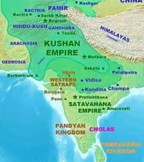 Kushan Empire - Expansion and Boundaries