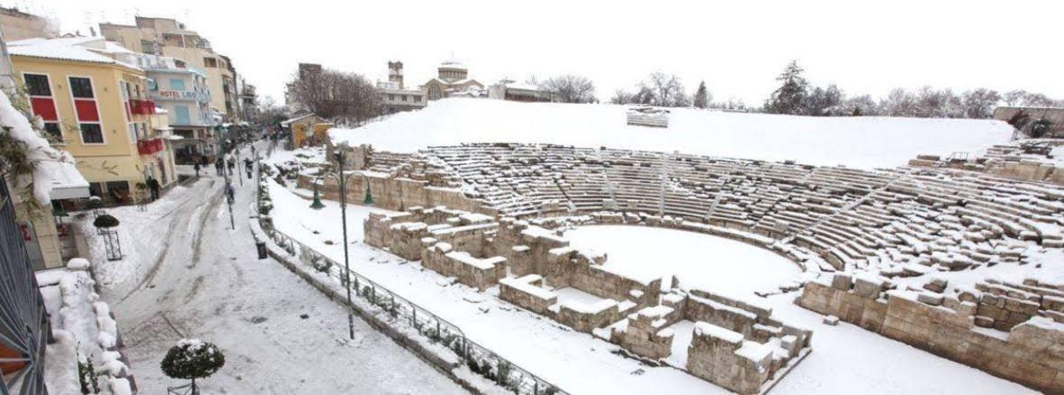 Αγριεμένος και με χιόνια έρχεται ο Νοέμβριος στη Θεσσαλία