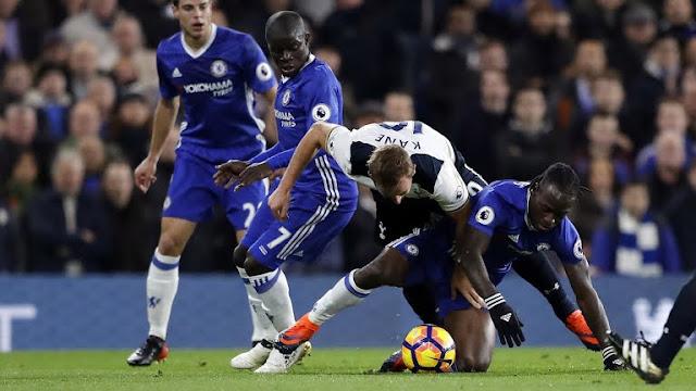 Hasil Pertandingan Liga Inggris, Chelsea vs Tottenham Hotspur