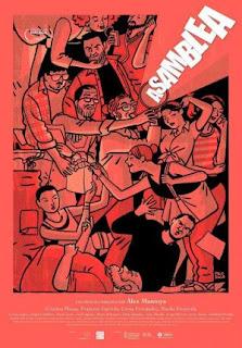 """Poster de la película de Álex Montoya """"Asamblea""""."""