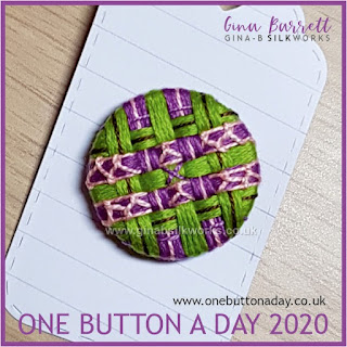 Day 192 : Glyph - One Button a Day 2020 by Gina Barrett