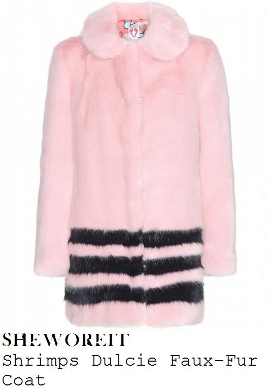 sarah-jane-crawford-pink-and-navy-striped-detail-faux-fur-coat-radio-1