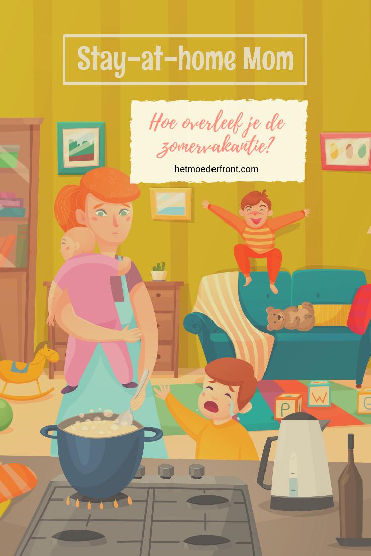 Thuisblijfmoeders en zomervakantie