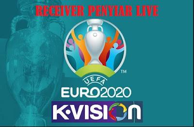 Reciever Yang Menayangkan Siaran Langsung Piala EURO 2020