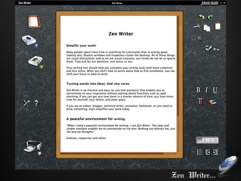 technology updated news: ZenWriter