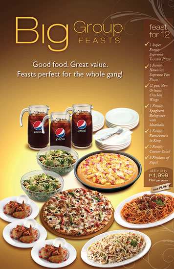pizza hut group discount