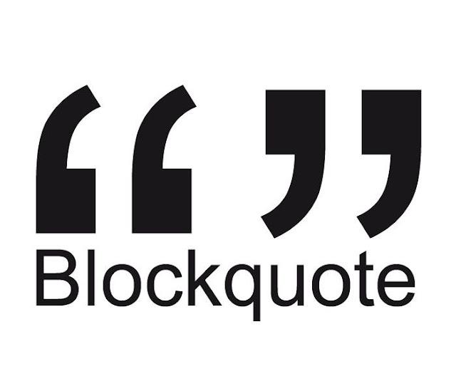 membuat blockquote keren