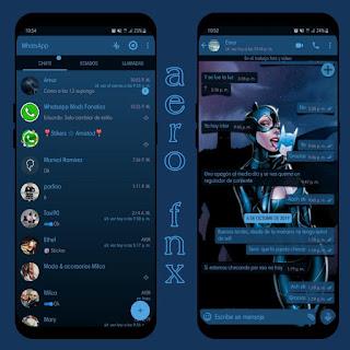 Cat Girl Theme For YOWhatsApp & Fouad WhatsApp By Ave fénix