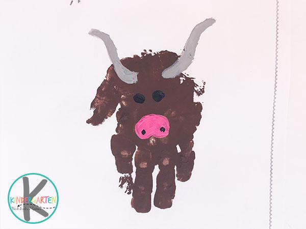 y is for yak hand art craft for toddler preschool kindergarten