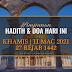 Hadith & Doa Hari Ini | 11 Mac 2021 | 27 Rejab 1442 | KHAMIS