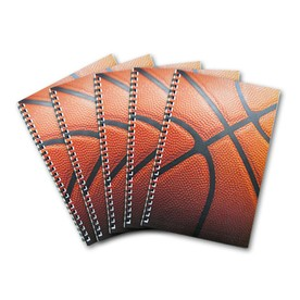 5 Basketball Clinic Notebooks