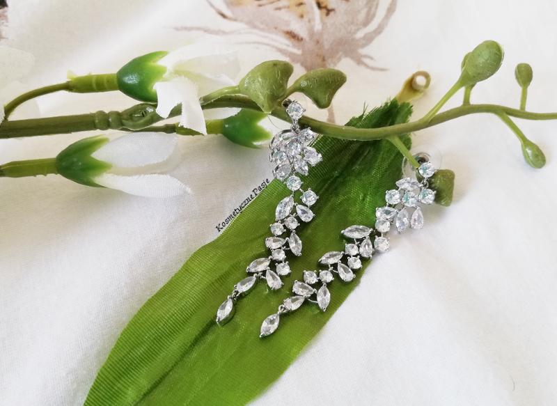 kolczyki na ślub