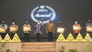 KI Riau Award 2020, Puluhan Badan Publik Terima Anugerah