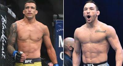 UFC 262 Michael Chandler VS Charles Oliveira Fierce battle for the title of Khabib