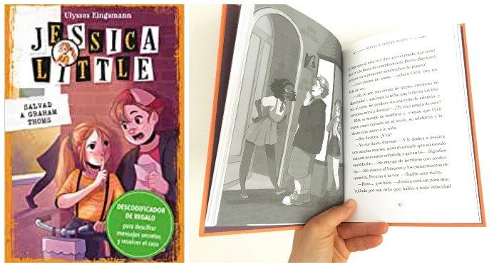 Libro Jessica Little detectives