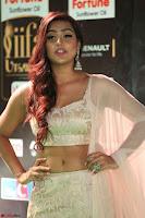 Prajna Actress in backless Cream Choli and transparent saree at IIFA Utsavam Awards 2017 0070.JPG