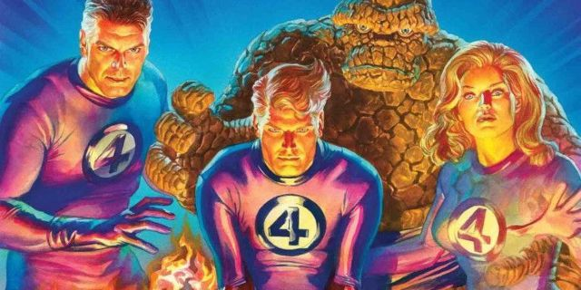 Fantastic Four: Primer vistazo a  Artgerm Variants de Alex Ross