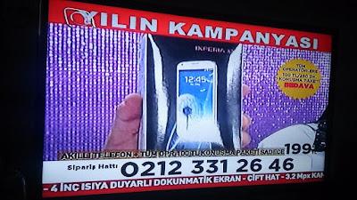 TV ve gazete reklamları yoluyla satılan telefonlara dikkat!