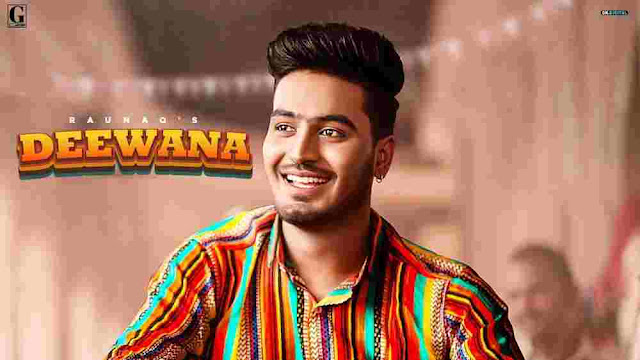 Deewana Lyrics English by Raunaq
