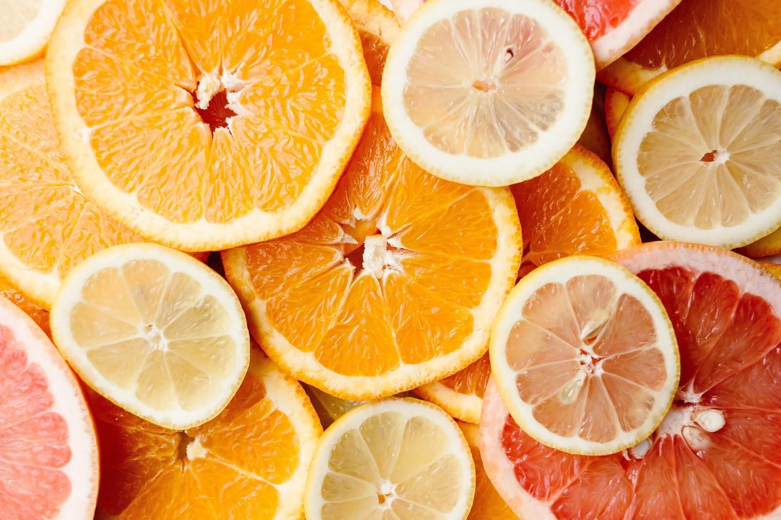 الفرق بين الليمون والبرتقال