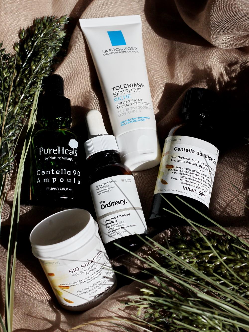 Inhaltsstoffe Gesichtspflege empfindliche Haut