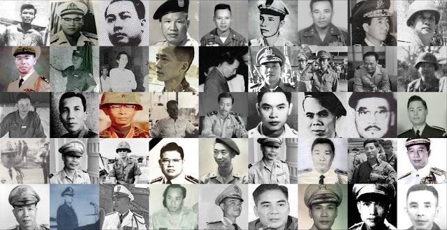 Danh sách Thiếu tướng Việt Nam Cộng hòa