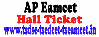AP EAMCET 2016 Hall Ticket Download