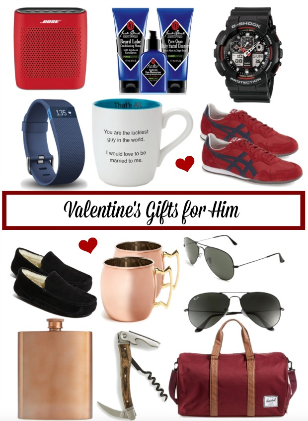 Valentine's Day Gift Ideas for Him - that he'll actually like!