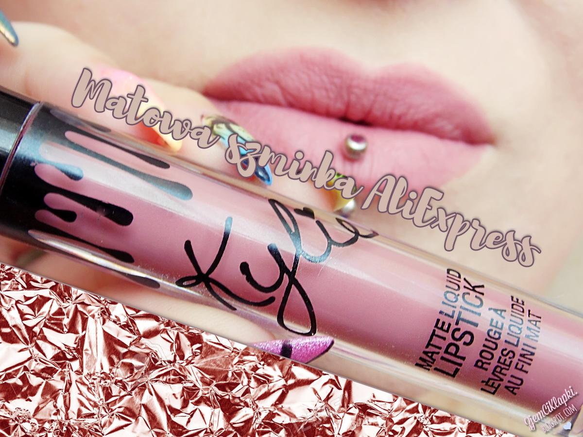 380 | Podróbka Kylie Matte Liquid Lipstick - Candy K (AliExpress)